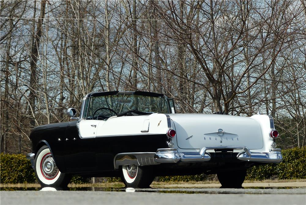 1955 PONTIAC STAR CHIEF CONVERTIBLE - Rear 3/4 - 183997
