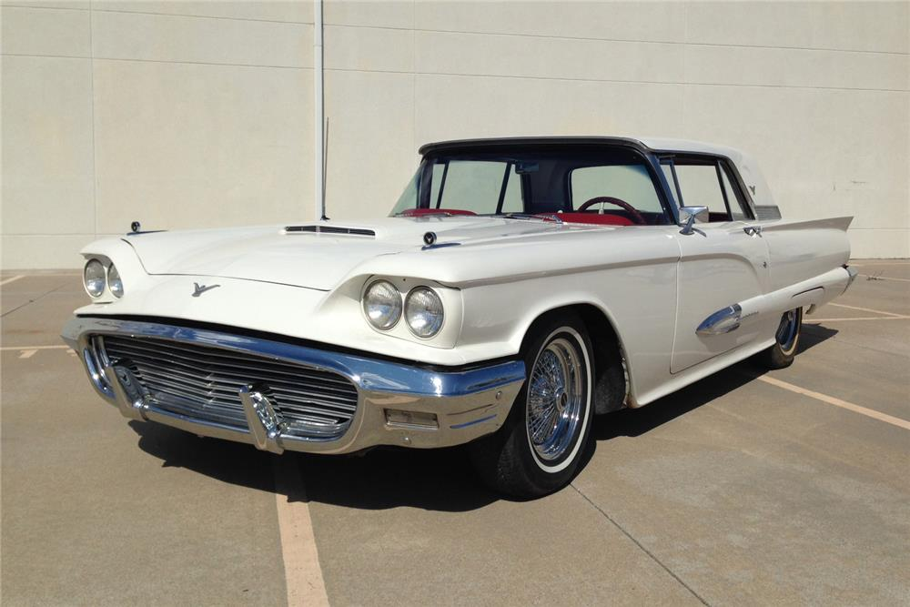 1959 FORD THUNDERBIRD - Front 3/4 - 184002