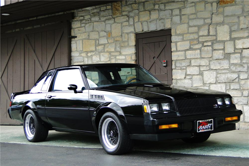 Twin Turbo 1987 Buick Grand National >> 1987 BUICK GRAND NATIONAL GNX - 184006
