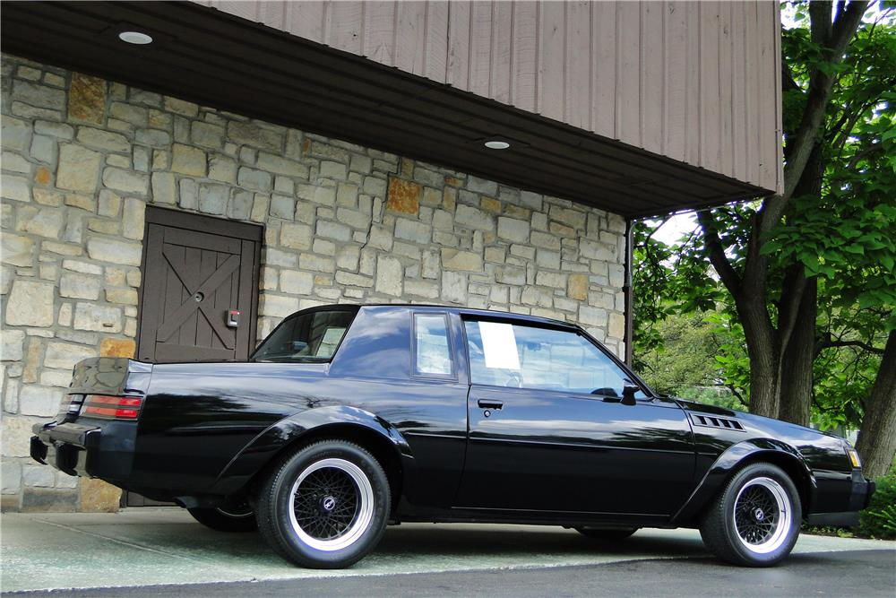 1987 buick grand national gnx side profile 184006. Cars Review. Best American Auto & Cars Review