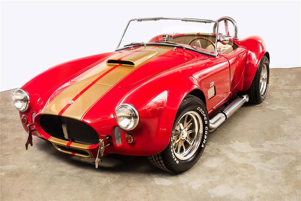 1967 COBRA RE-CREATION ROADSTER - Front 3/4 - 184019