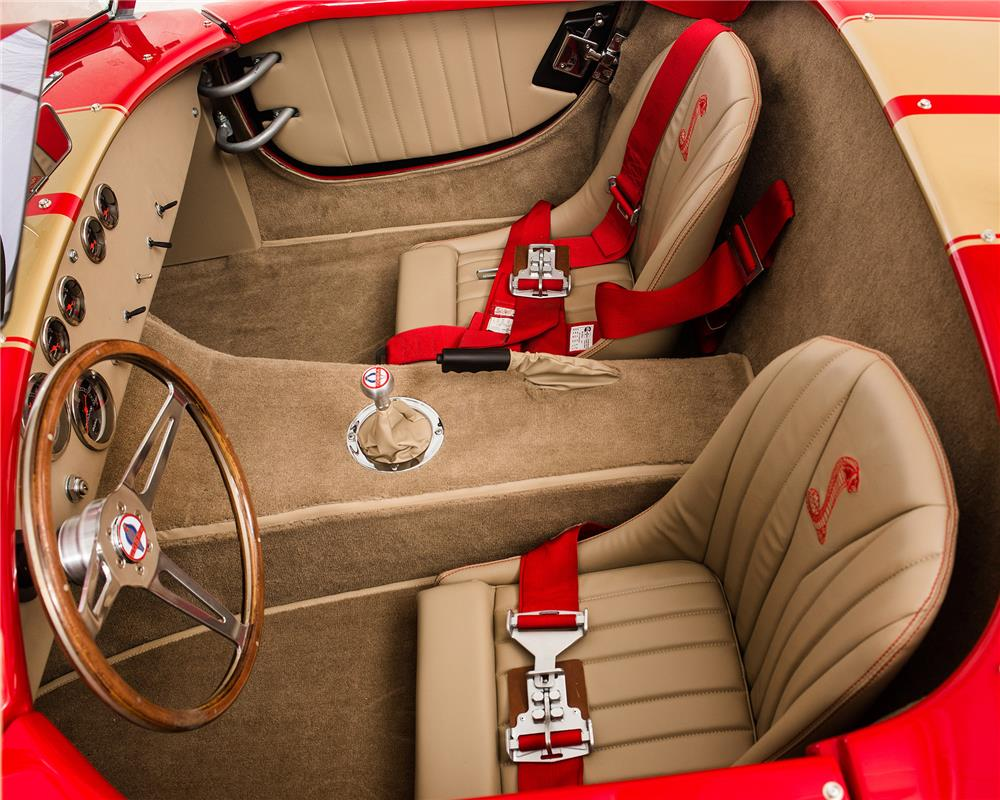 1967 COBRA RE-CREATION ROADSTER - Interior - 184019