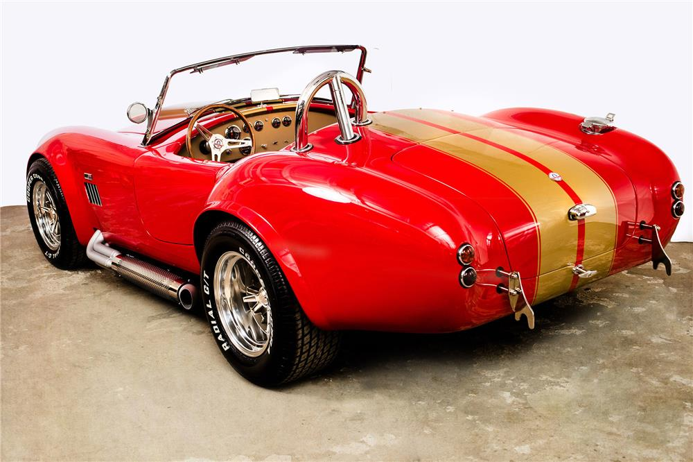 1967 COBRA RE-CREATION ROADSTER - Rear 3/4 - 184019