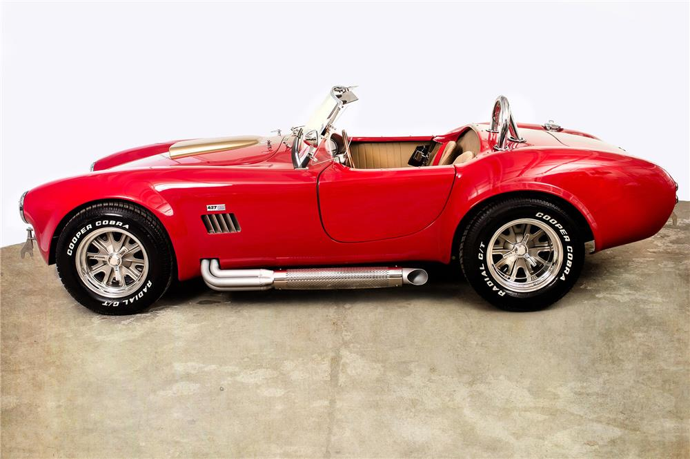 1967 COBRA RE-CREATION ROADSTER - Side Profile - 184019