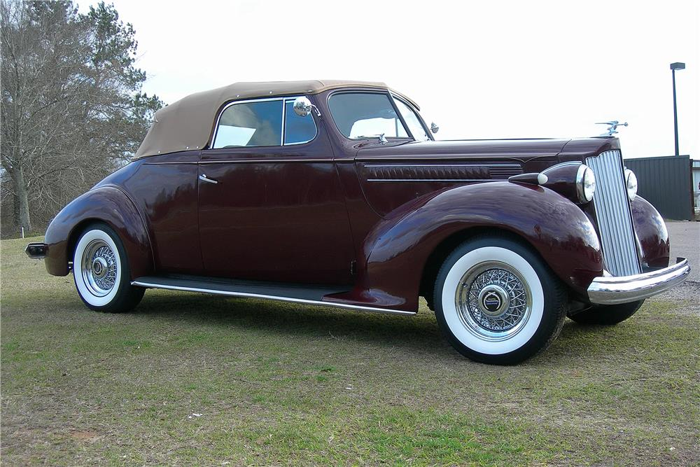 1939 PACKARD CUSTOM CONVERTIBLE - Side Profile - 184027