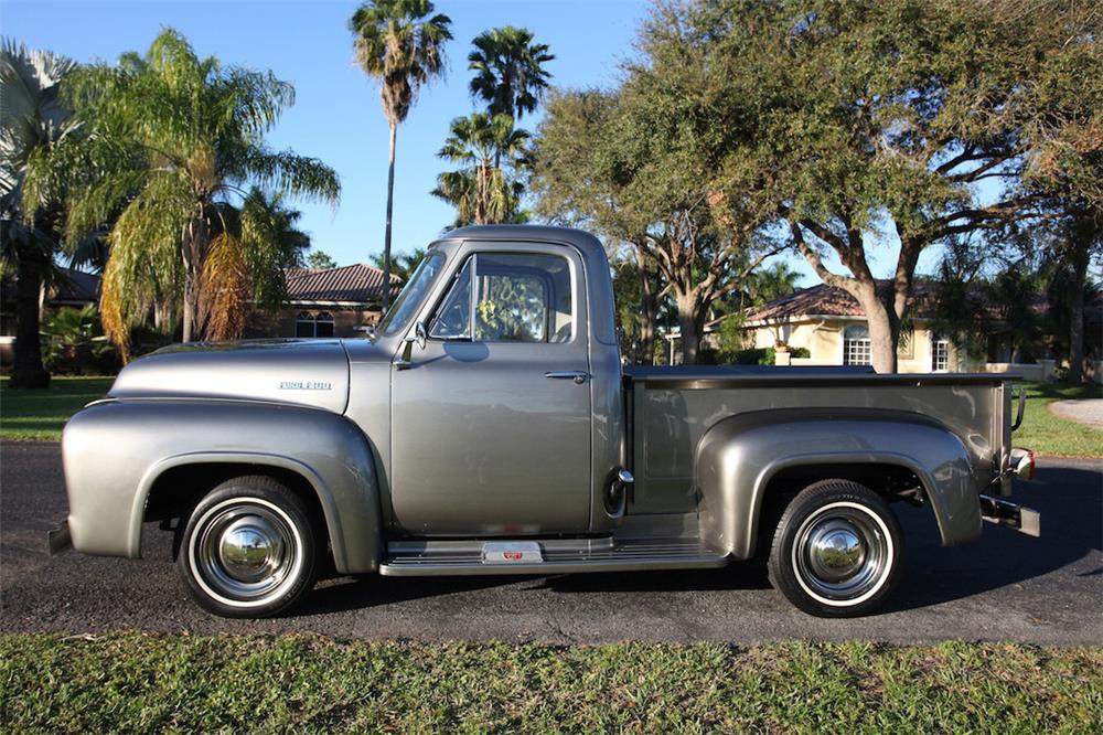 1953 FORD F-100 PICKUP - Side Profile - 184053
