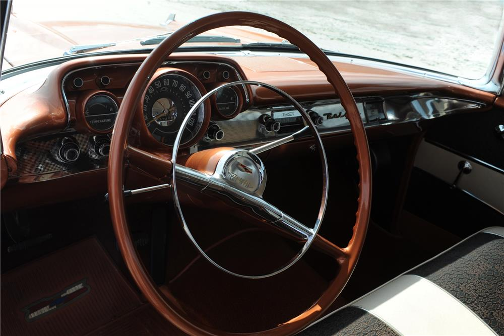 1957 CHEVROLET BEL AIR - Interior - 184063