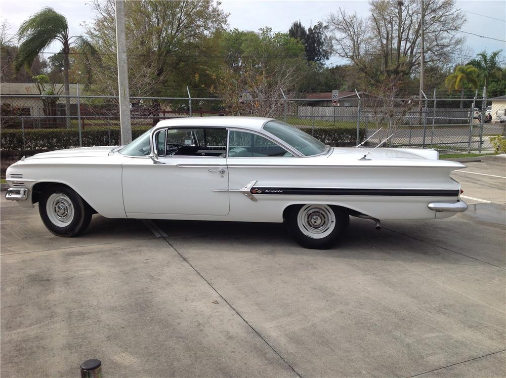 1960 CHEVROLET IMPALA - Side Profile - 184069