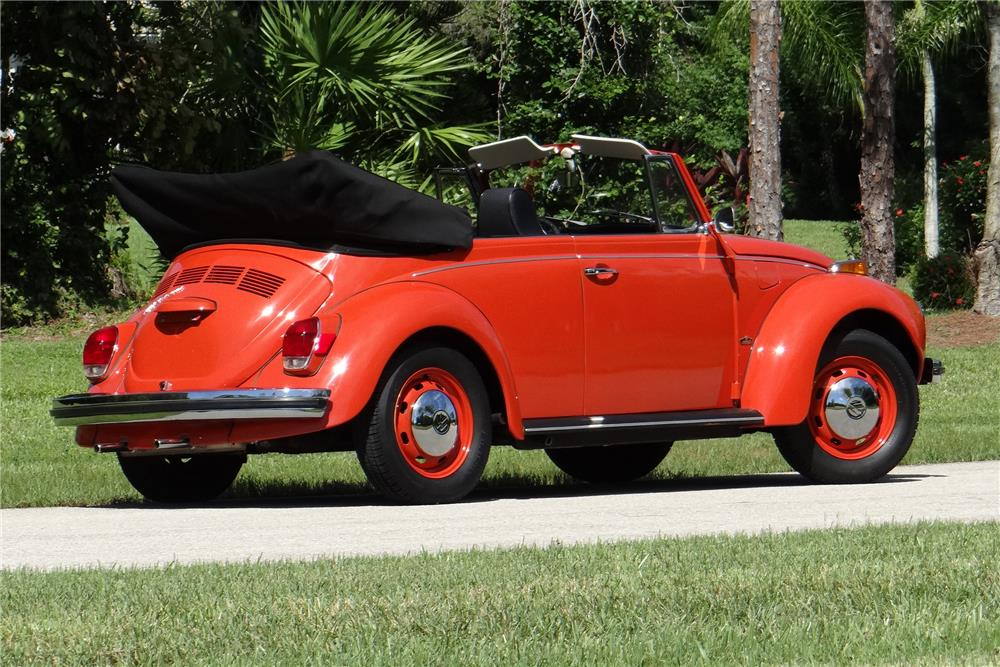 1971 VOLKSWAGEN SUPER BEETLE CONVERTIBLE - 184088