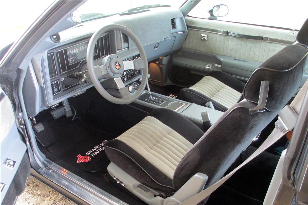 1986 BUICK REGAL GRAND NATIONAL T-TOP COUPE - 184092