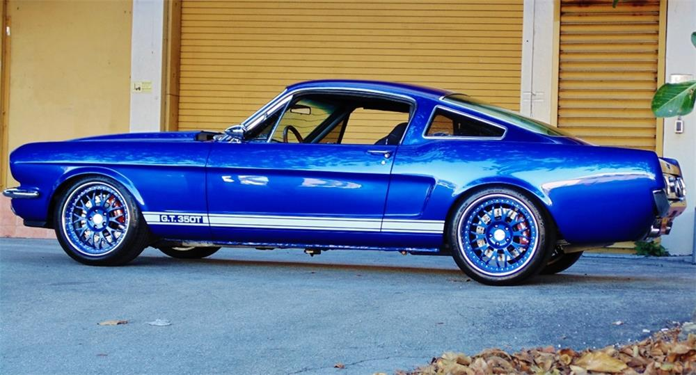 1965 FORD MUSTANG CUSTOM FASTBACK - Side Profile - 184095