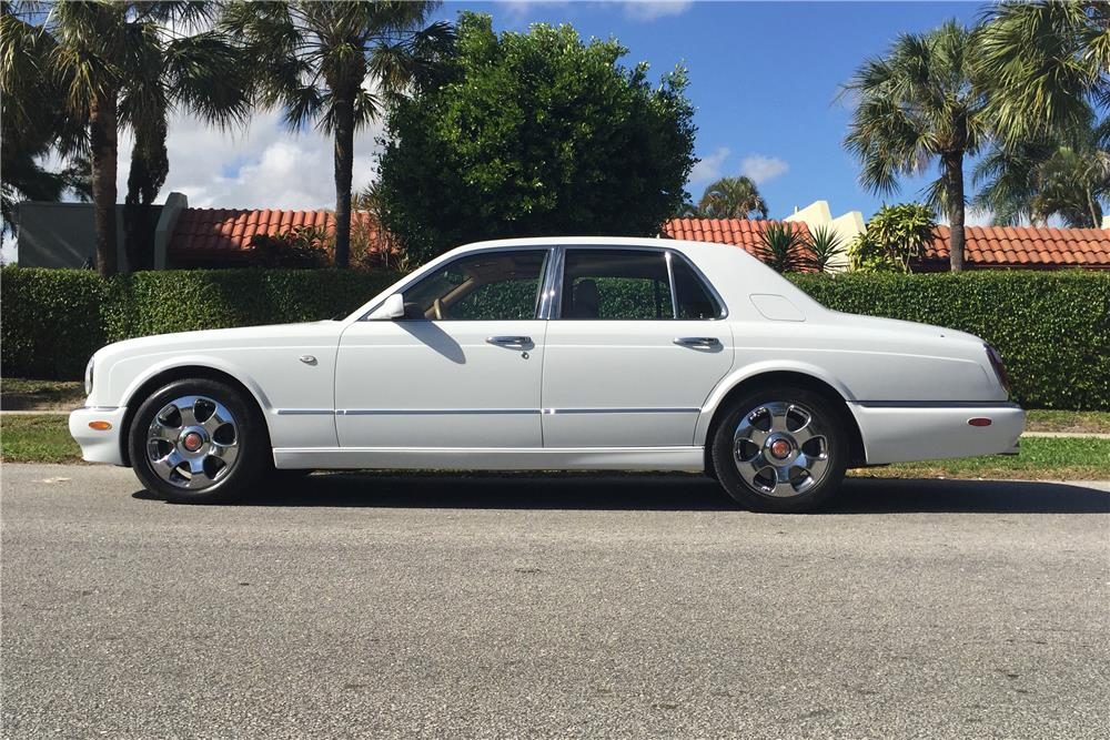 2000 BENTLEY ARNAGE RED LABEL TURBO - Side Profile - 184098