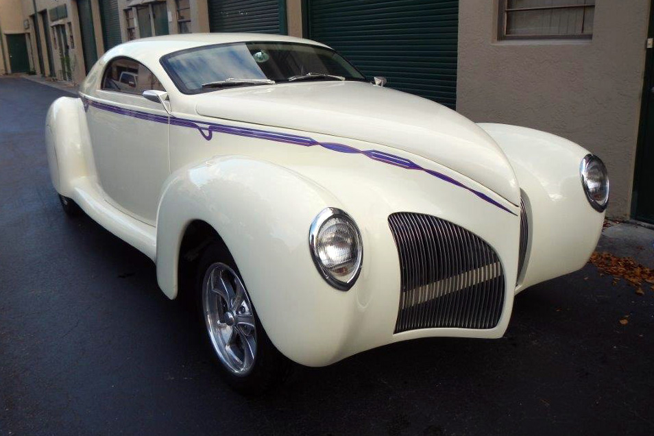 1939 LINCOLN ZEPHYR CUSTOM - Front 3/4 - 184100