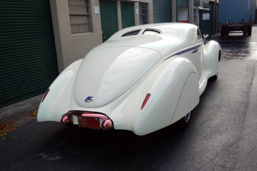 1939 LINCOLN ZEPHYR CUSTOM - Rear 3/4 - 184100