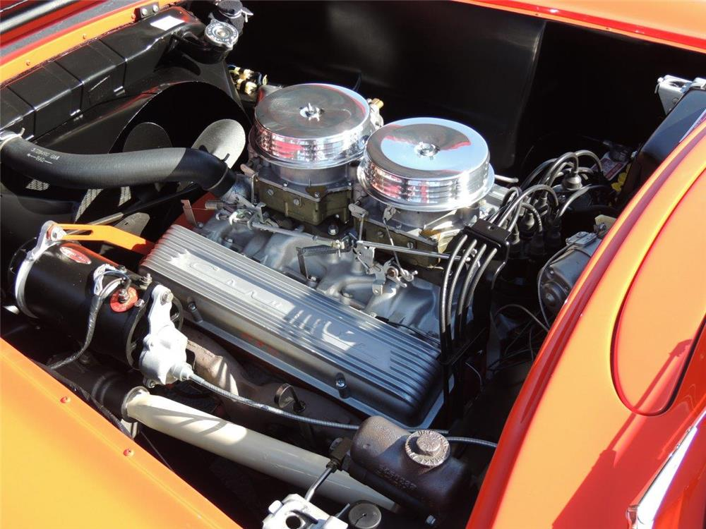 1957 CHEVROLET CORVETTE CONVERTIBLE - Engine - 184145