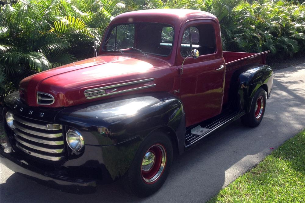 1948 FORD F-1 PICKUP - Front 3/4 - 184146