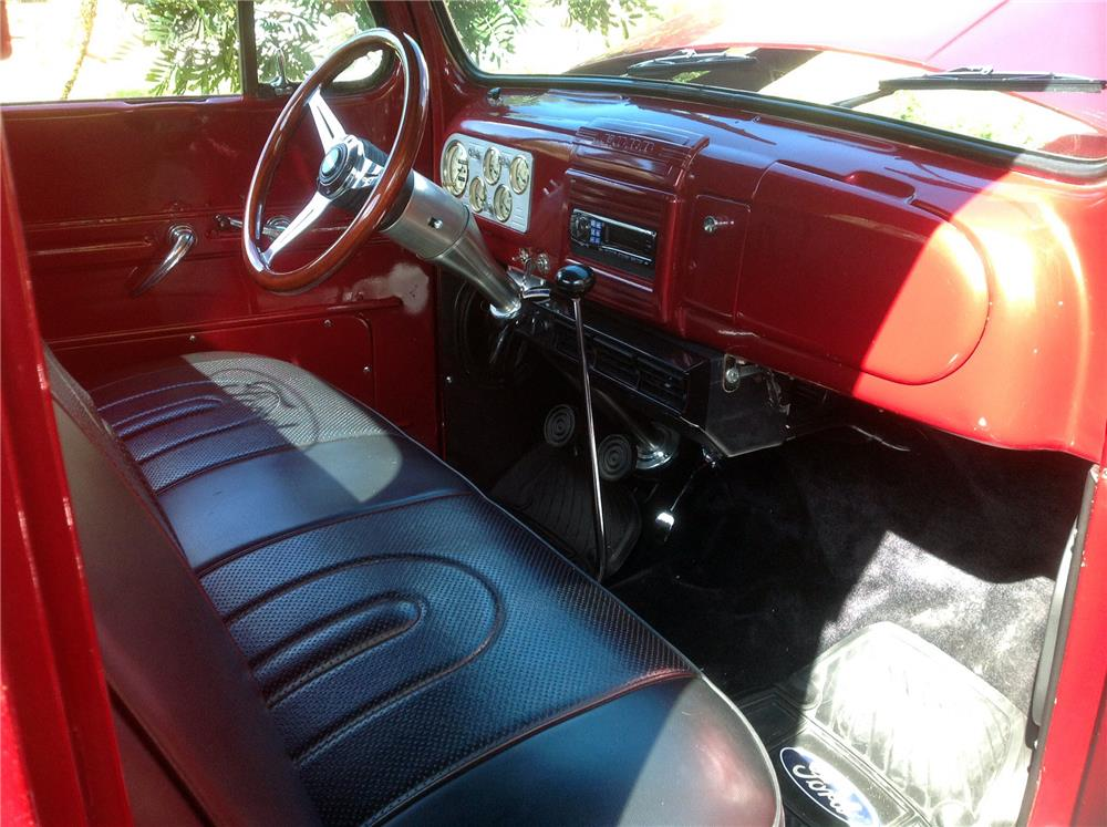 1948 FORD F-1 PICKUP - Interior - 184146