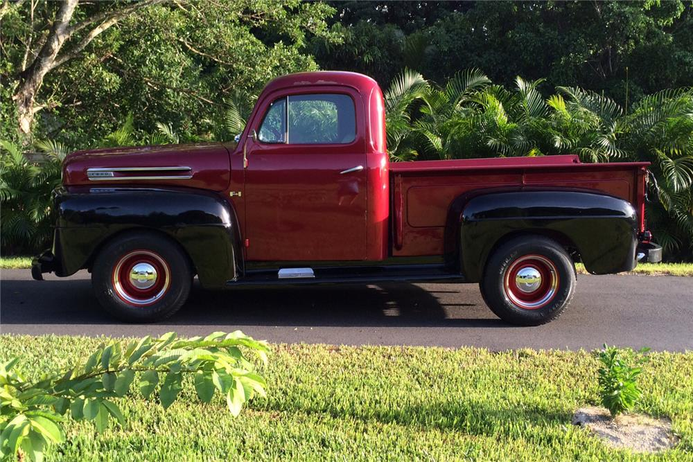 1948 FORD F-1 PICKUP - Side Profile - 184146