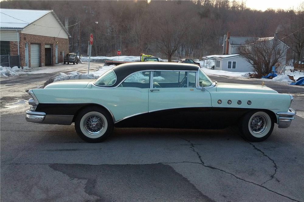 1955 BUICK RIVIERA - Side Profile - 184168