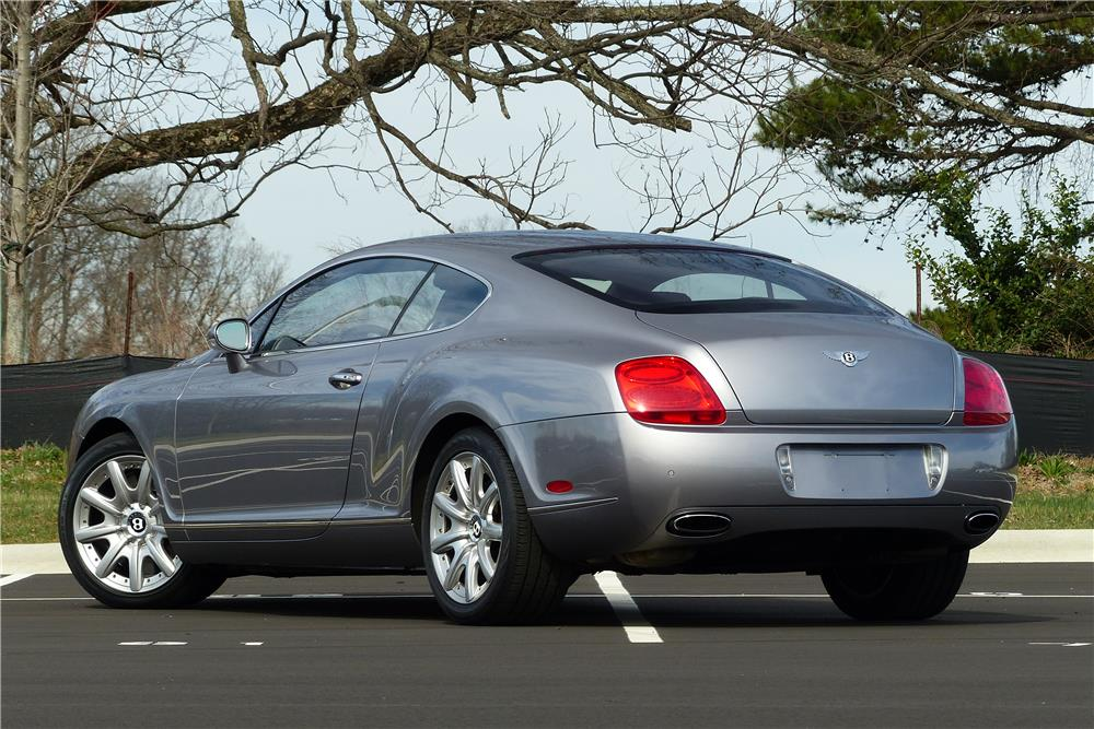 2005 BENTLEY CONTINENTAL GT TWIN TURBO - Rear 3/4 - 184177