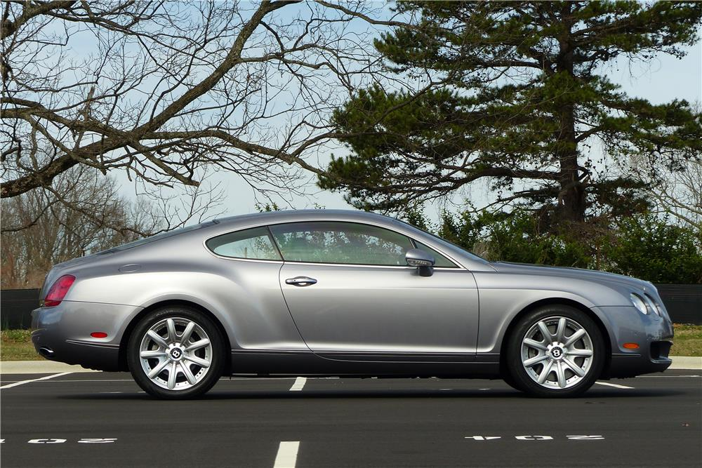 2005 bentley continental gt twin turbo side profile 184177. Cars Review. Best American Auto & Cars Review