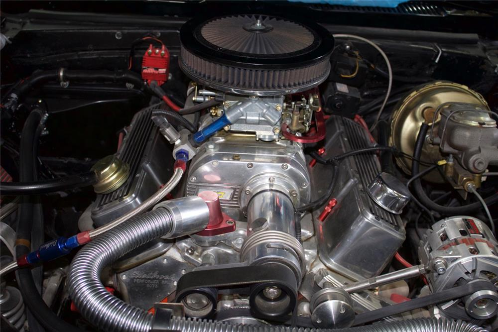 1967 CHEVROLET CAMARO CUSTOM - Engine - 184188