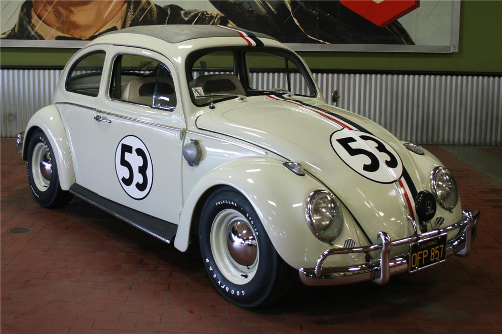 1963 Volkswagen Beetle Sunroof Custom Herbie