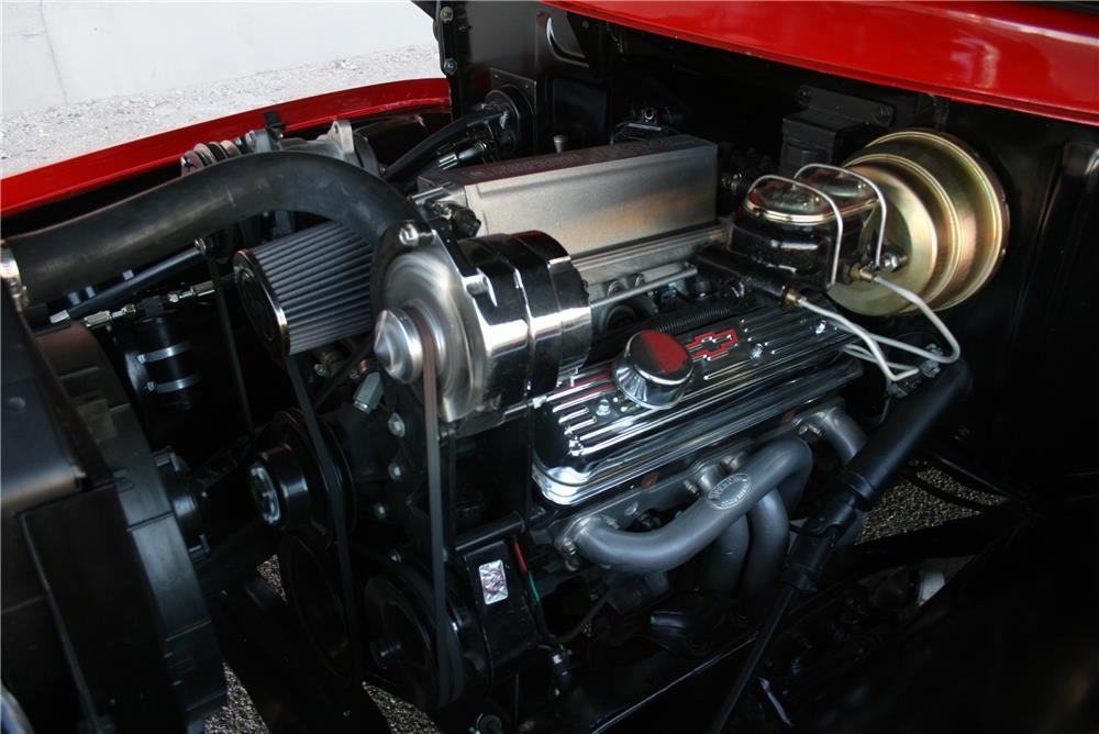 1955 FORD F-100 CUSTOM PICKUP - Engine - 184203