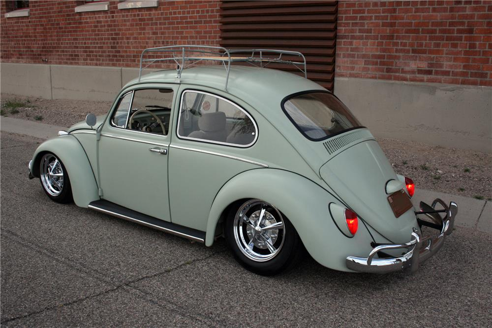 1965 VOLKSWAGEN BEETLE CUSTOM - Rear 3/4 - 184210