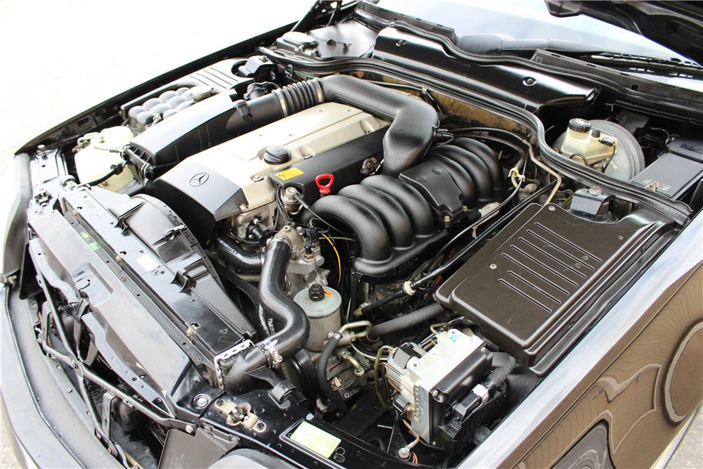 1995 MERCEDES-BENZ SL320 CONVERTIBLE - Engine - 184220