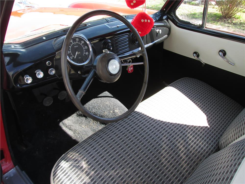 1960 NASH METROPOLITAN CONVERTIBLE - Interior - 184222