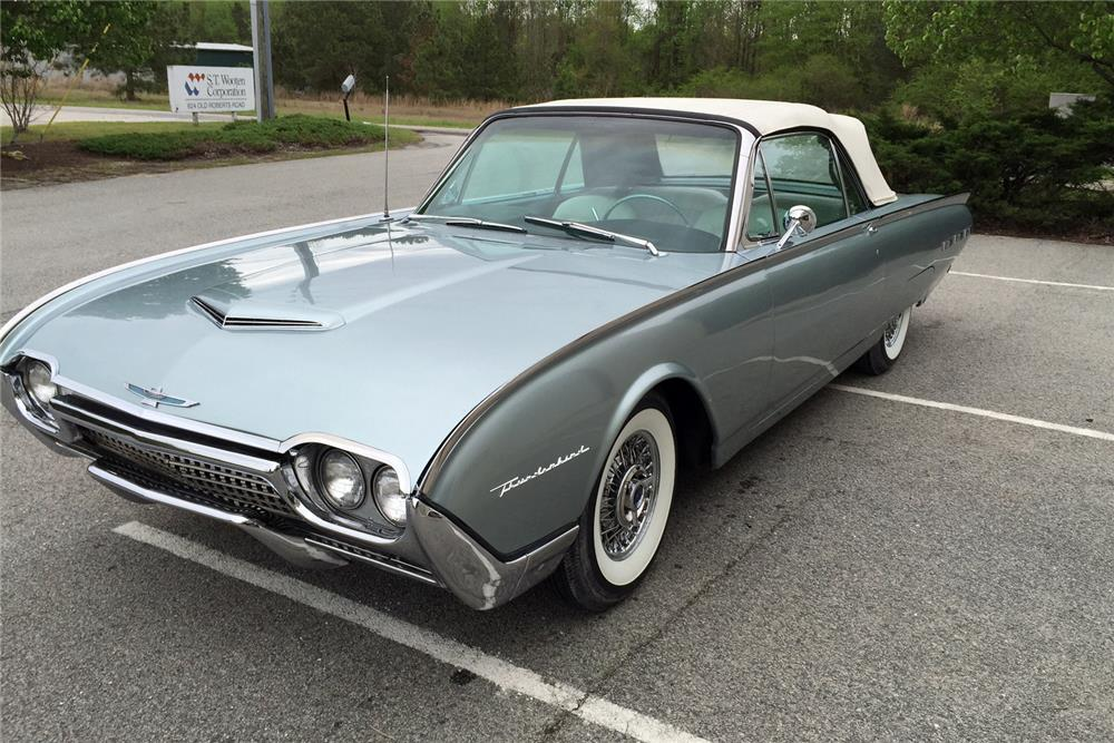 1962 ford thunderbird convertible 184226. Cars Review. Best American Auto & Cars Review