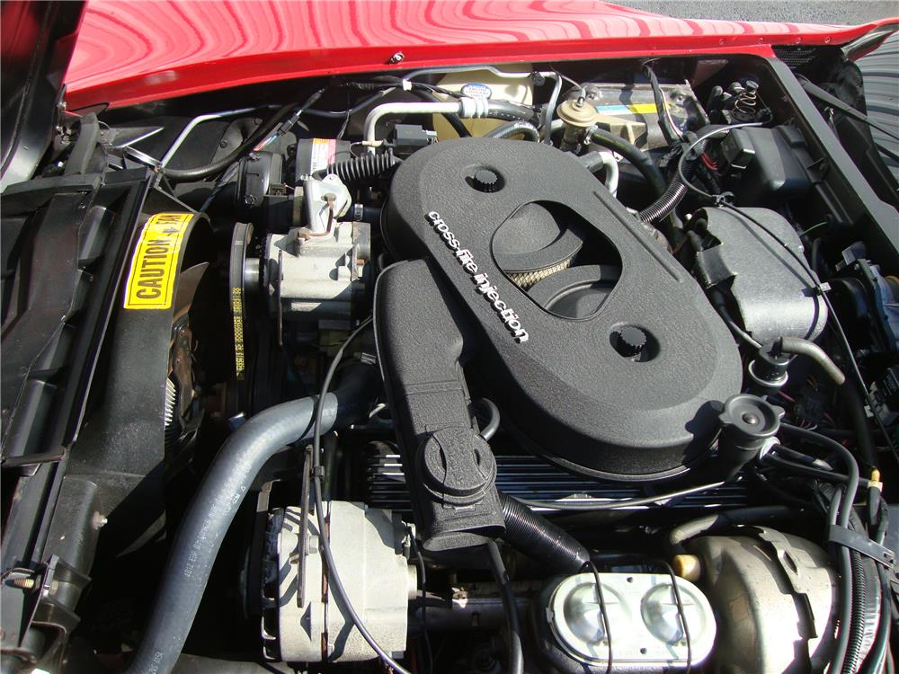 1982 CHEVROLET CORVETTE - Engine - 184234