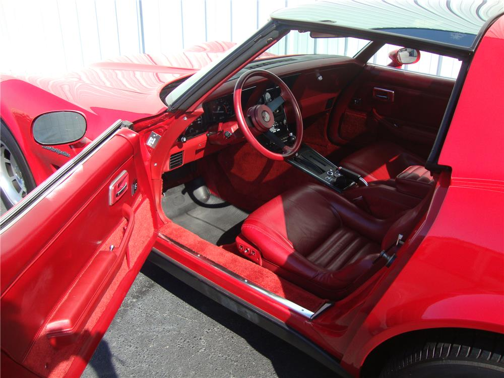 1982 CHEVROLET CORVETTE - Interior - 184234