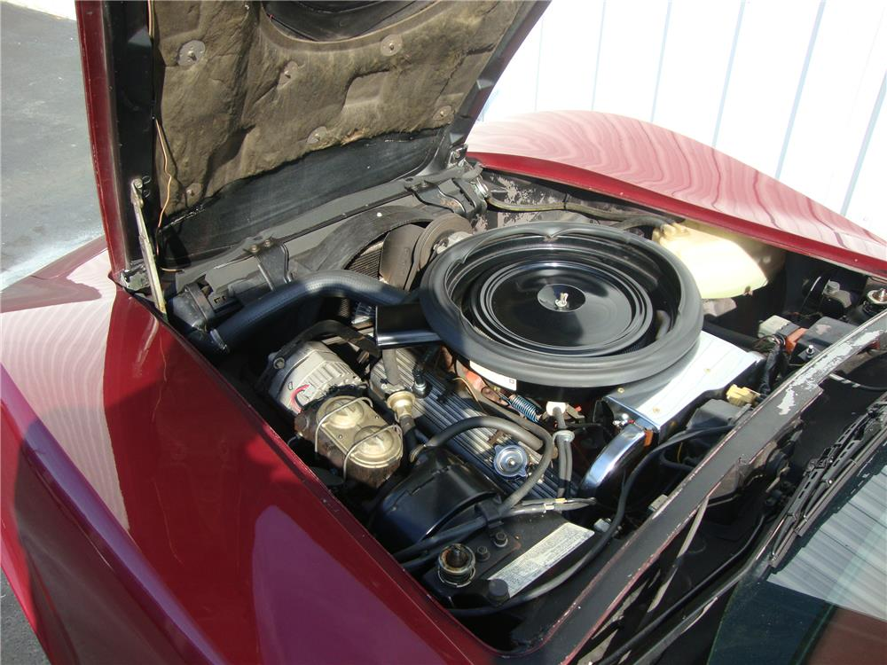 1974 CHEVROLET CORVETTE CONVERTIBLE - Engine - 184237