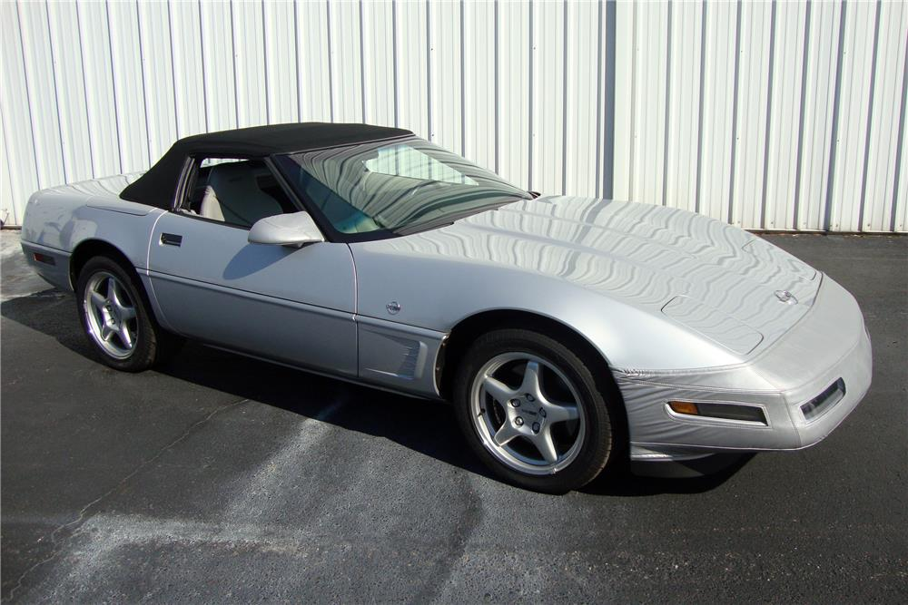 1996 CHEVROLET CORVETTE CONVERTIBLE - Front 3/4 - 184239