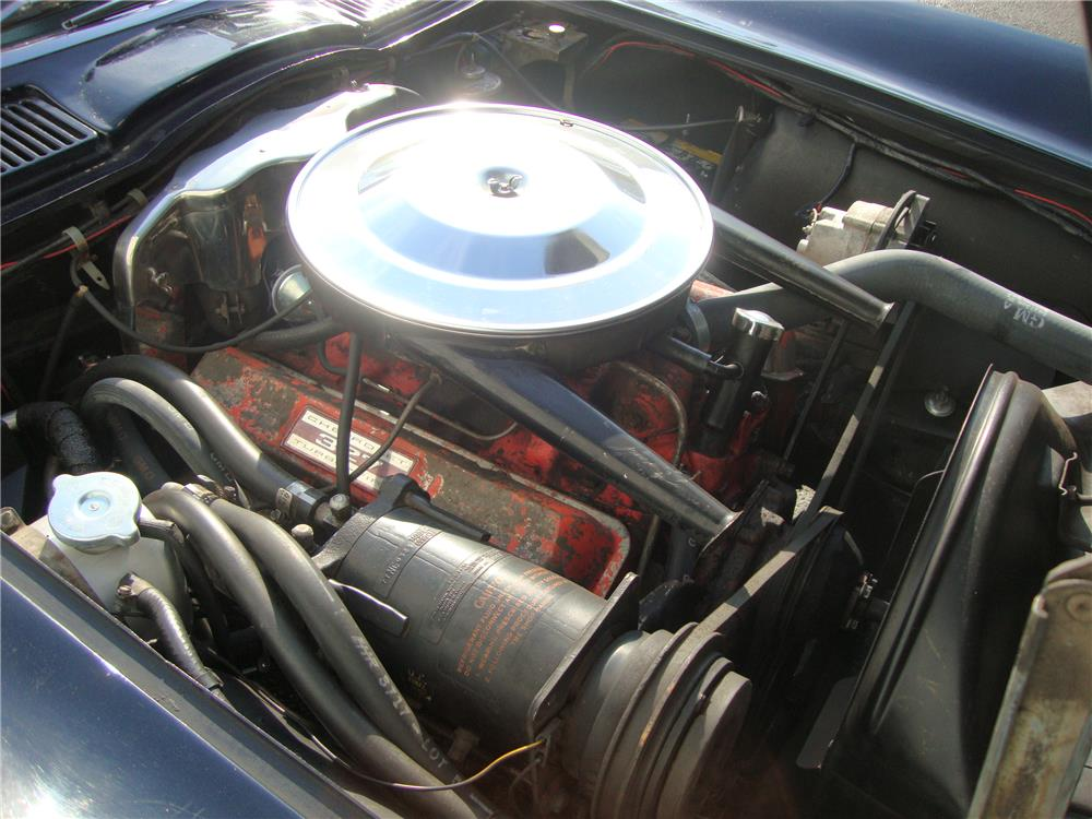 1963 CHEVROLET CORVETTE CONVERTIBLE - Engine - 184242