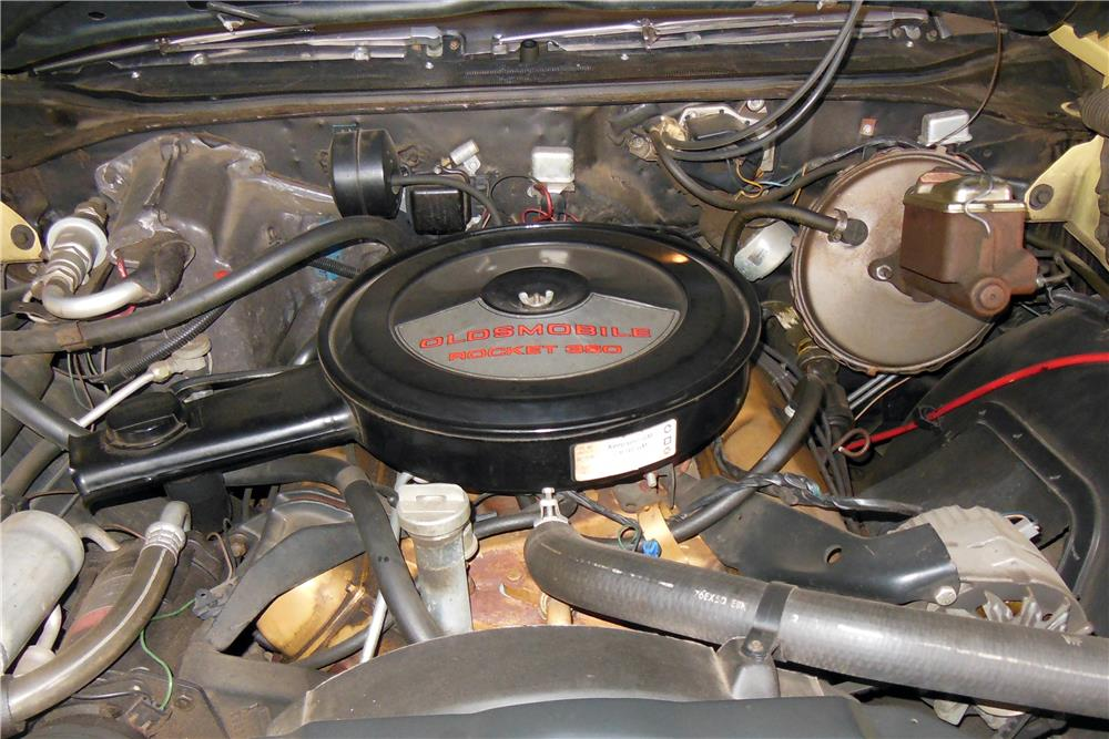 1972 OLDSMOBILE CUTLASS CONVERTIBLE - Engine - 184256
