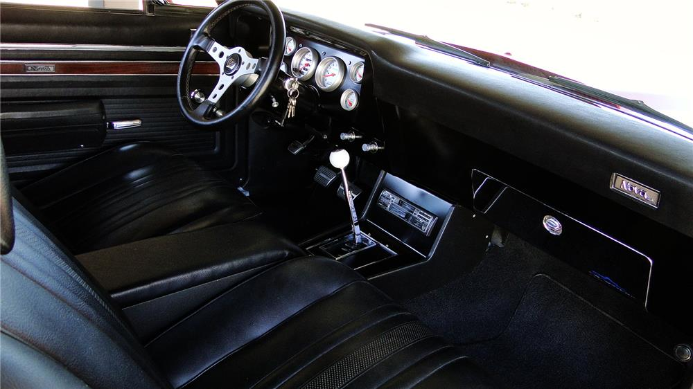 1972 CHEVROLET RALLY NOVA - Interior - 184260