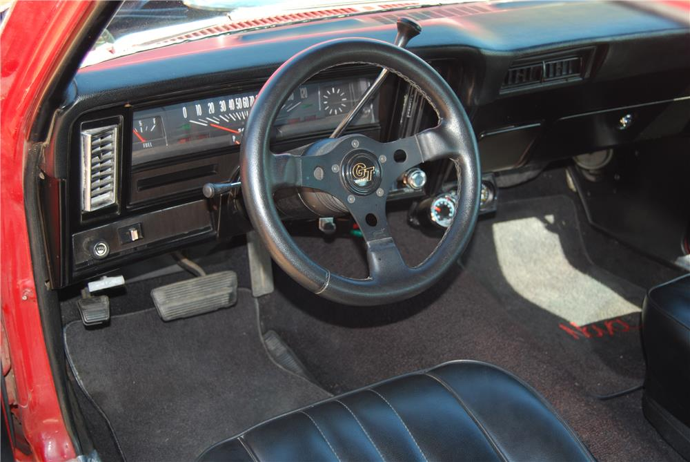 1970 CHEVROLET NOVA SS CUSTOM - Interior - 184261
