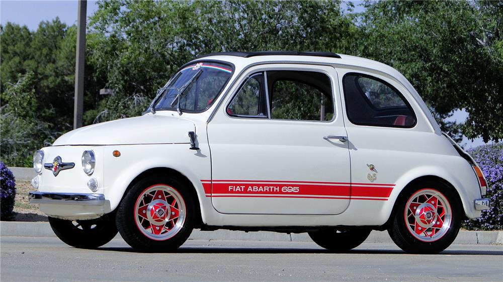 1969 FIAT 500 - Front 3/4 - 184264