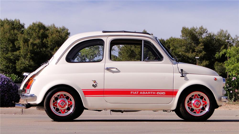 1969 FIAT 500 - Side Profile - 184264