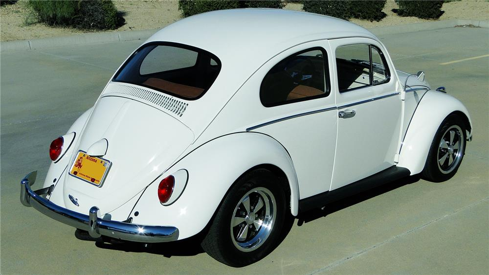 1965 VOLKSWAGEN BEETLE - Rear 3/4 - 184265