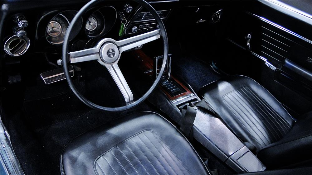 1968 CHEVROLET CAMARO - Interior - 184266