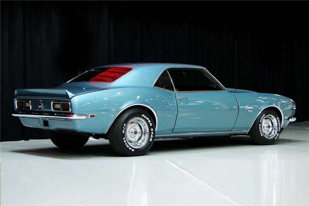 1968 CHEVROLET CAMARO - Rear 3/4 - 184266