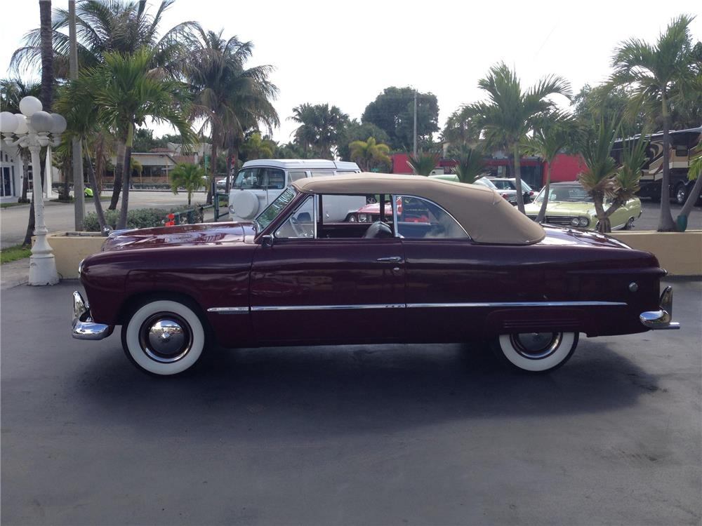 1949 FORD CUSTOM CONVERTIBLE - Side Profile - 184275