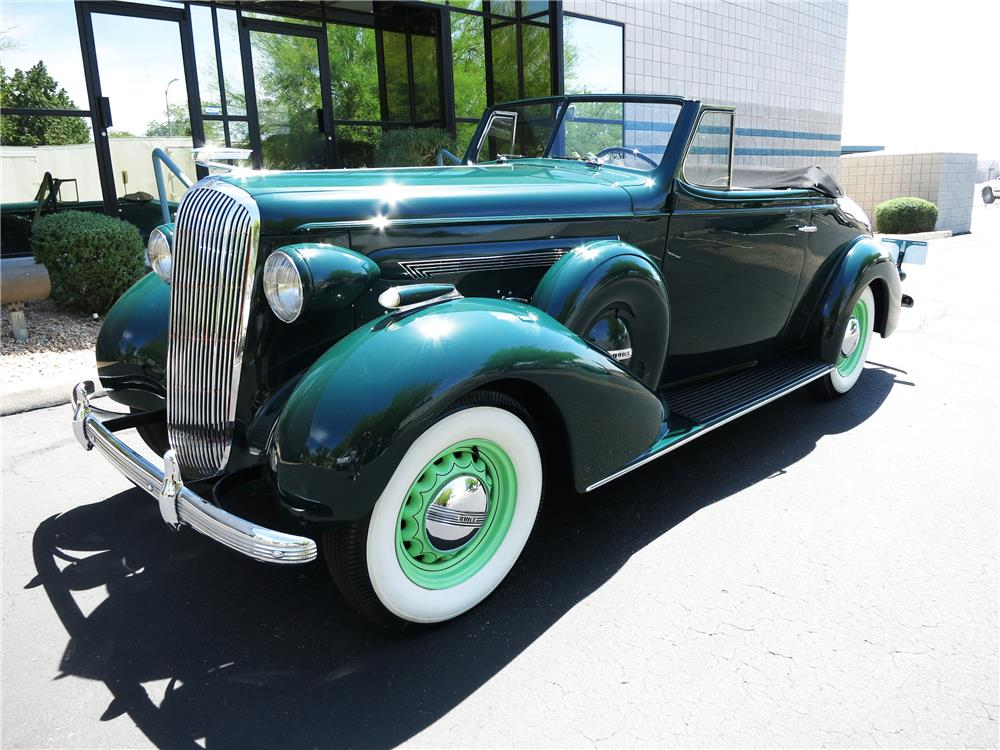 1936 BUICK SPECIAL CONVERTIBLE - Front 3/4 - 184285