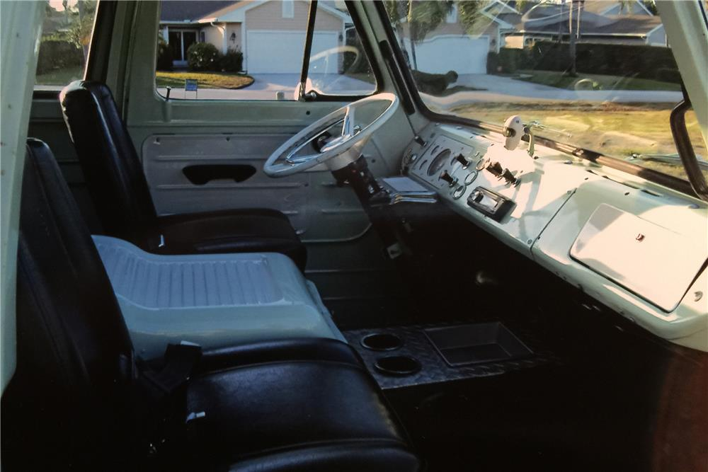 1967 FORD ECONOLINE PICKUP - Interior - 184297