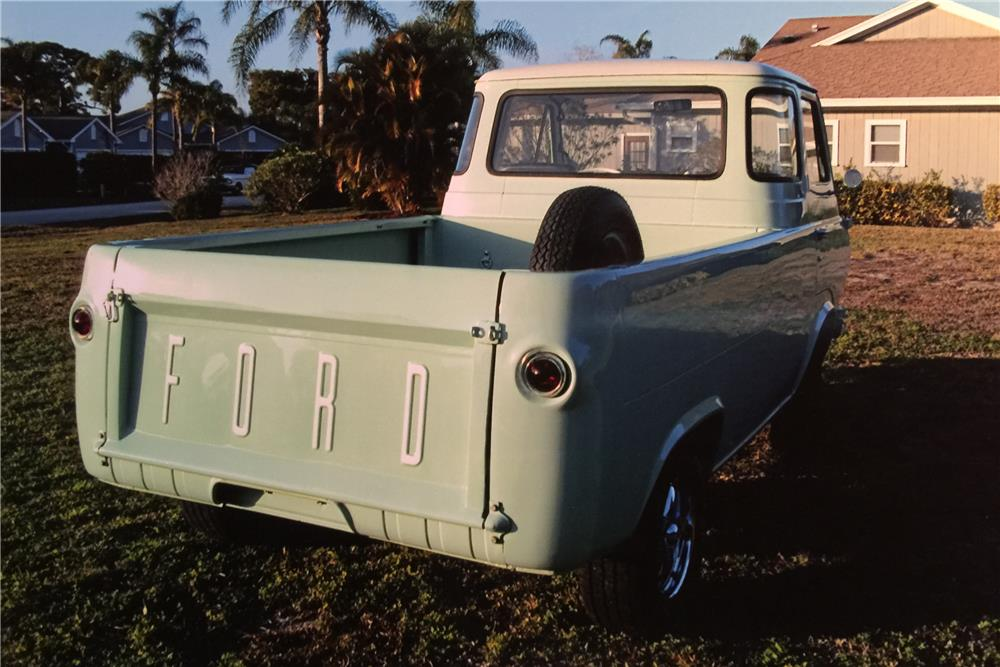 1967 FORD ECONOLINE PICKUP - Rear 3/4 - 184297