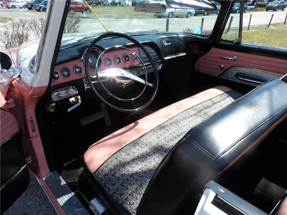 1955 DODGE ROYAL LANCER CONVERTIBLE - Interior - 184300